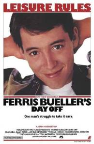 movie poster for Ferris Bueller's Day Off